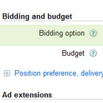 PPC Bidding Option